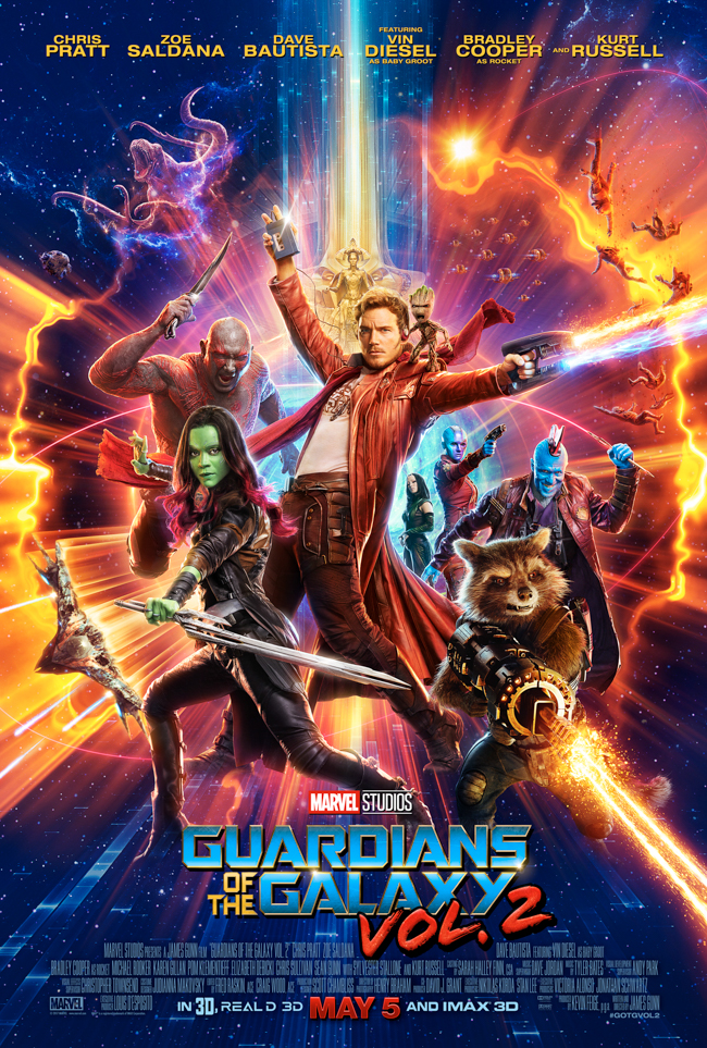 From comedy to cinematography, check out our top 10 Reasons to see Guardians of the Galaxy Vol. 2 - in theaters Friday, May 5th!