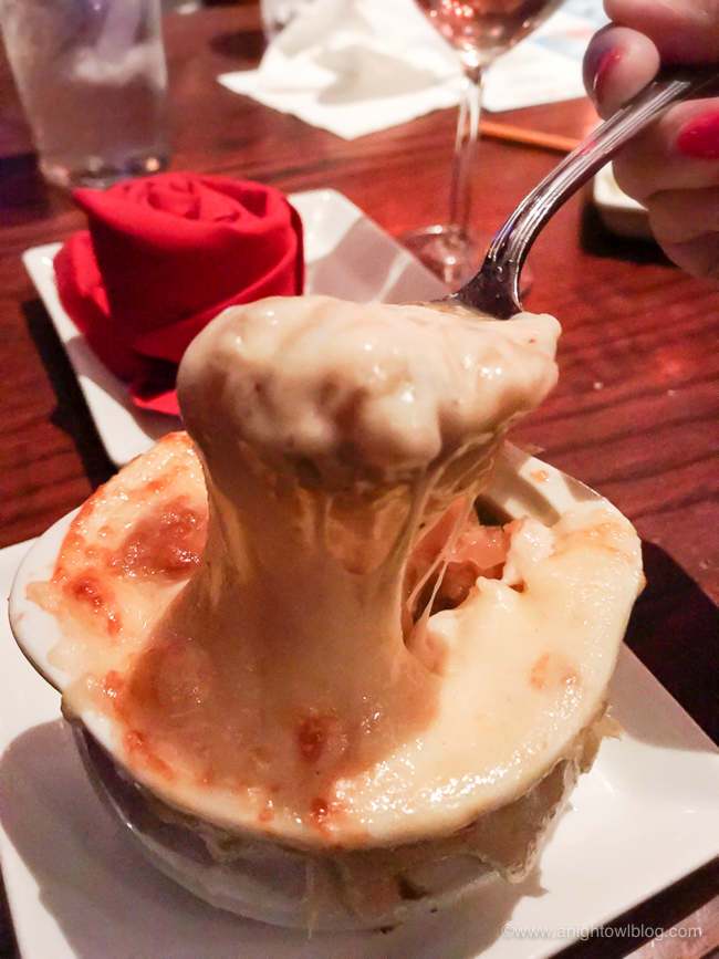 French Onion Soup from Be Our Guest Restaurant, Magic Kingdom