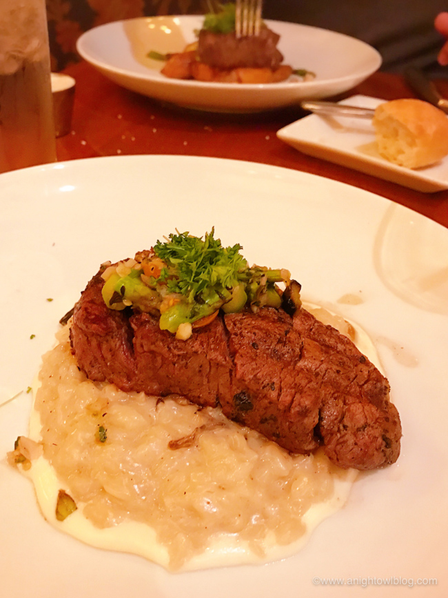 Guide to Eating Around the World at EPCOT: Le Cellier Filet Mignon from Le Cellier Steakhouse, Epcot World Showcase #EPCOT #WaltDisneyWorld