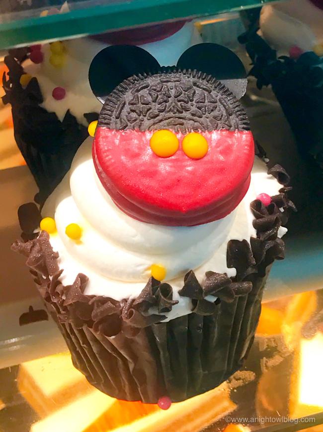 Mickey Oreo Cupcake from BoardWalk Bakery, Disney's BoardWalk