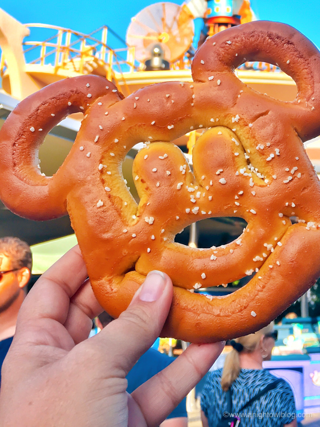 Mickey Pretzels from The Lunching Pad, Magic Kingdom