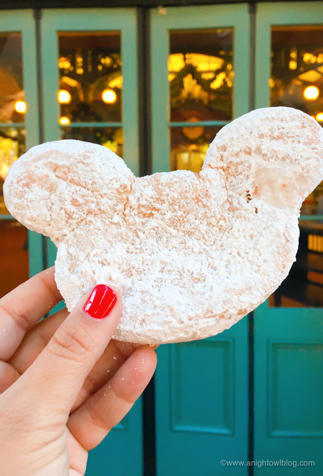 Mickey Beignets from Sassagoula Floatworks and Food Factory, Disney's Port Orleans Resort - French Quarter