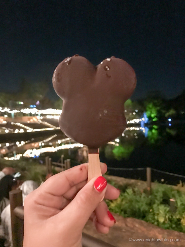 Mickey's Ice Cream Bars from Ice Cream Carts, All Parks.