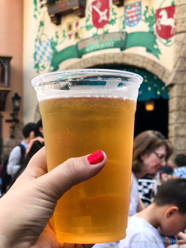Guide to Drinking Around the World at EPCOT: Altenmünster Oktoberfest from Sommerfest, Germany Pavilion #Epcot #WaltDisneyWorld