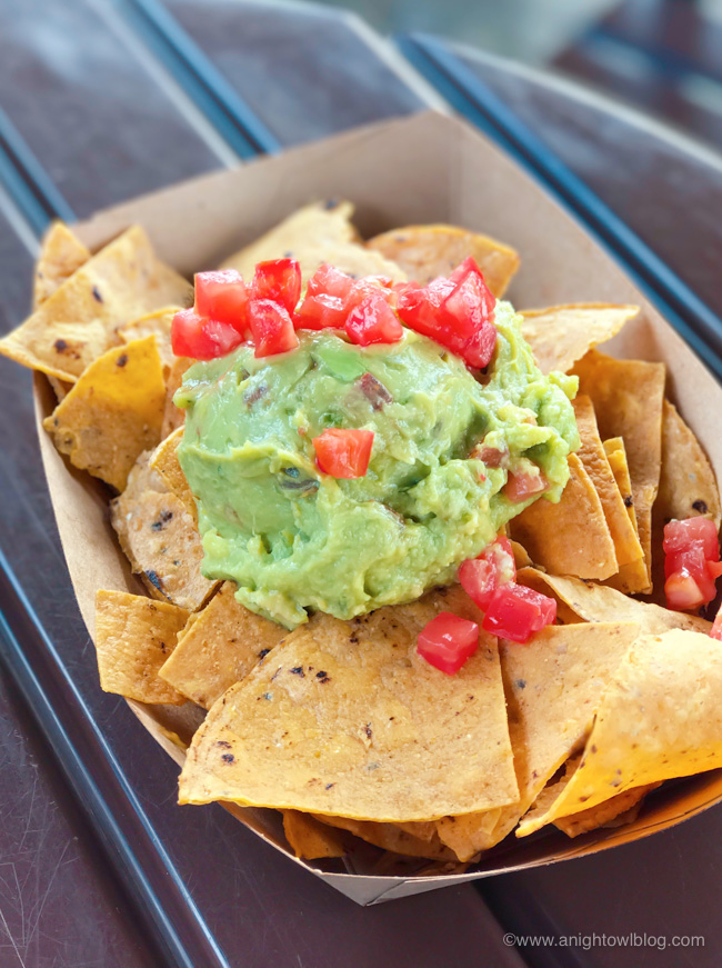 Guacamole with Totopos from La Cantina de San Angel, Mexico Pavilion at Epcot