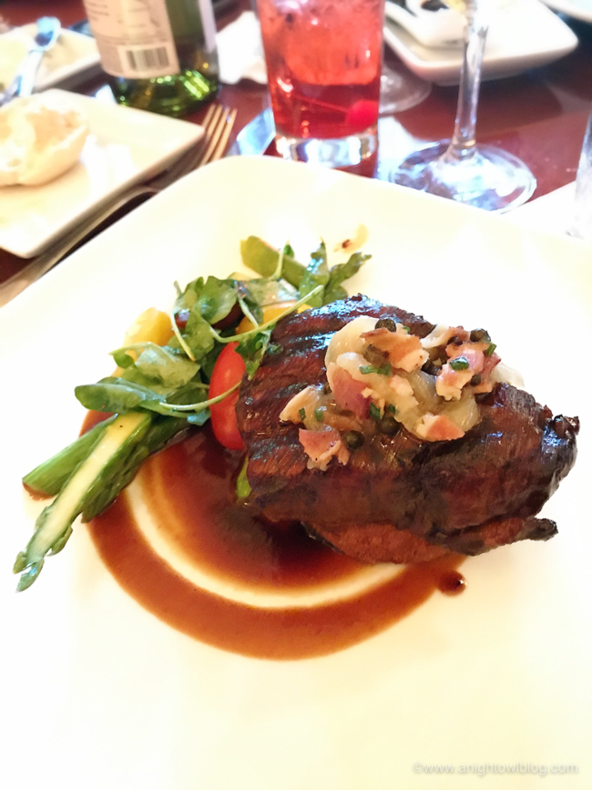 Charred Filet of Beef from The Hollywood Brown Derby, Hollywood Studios