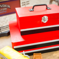 DIY Kids Toolbox Toy Box