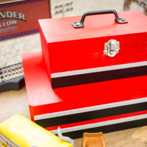 Excited about Disney•Pixar's Cars 3? Visit Amazon, the Ultimate Pit Stop for Cars 3 merchandise and whip up this adorable DIY Kids Toolbox Toy Box to keep them in!