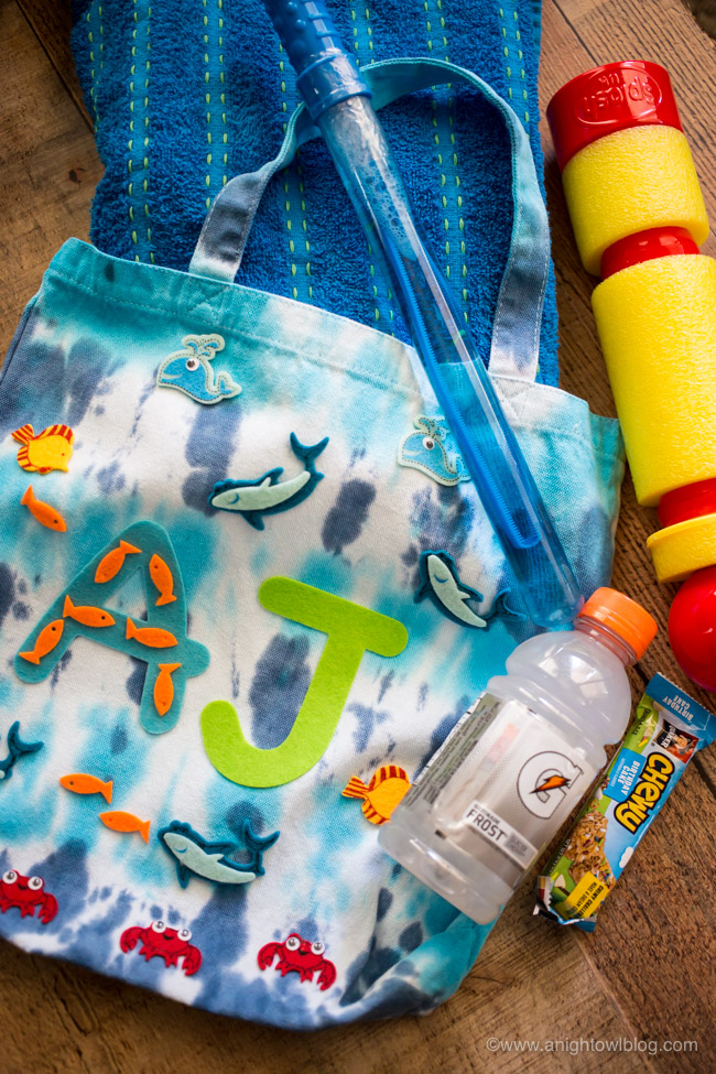 Gearing up for summer? Give the kids something to do that will be useful too, create these adorable DIY Pool Totes with supplies from Michaels Stores!