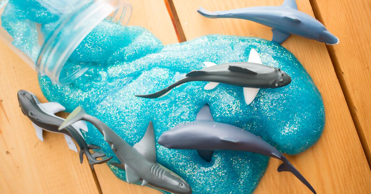 Diy Shark Slime A Night Owl Blog