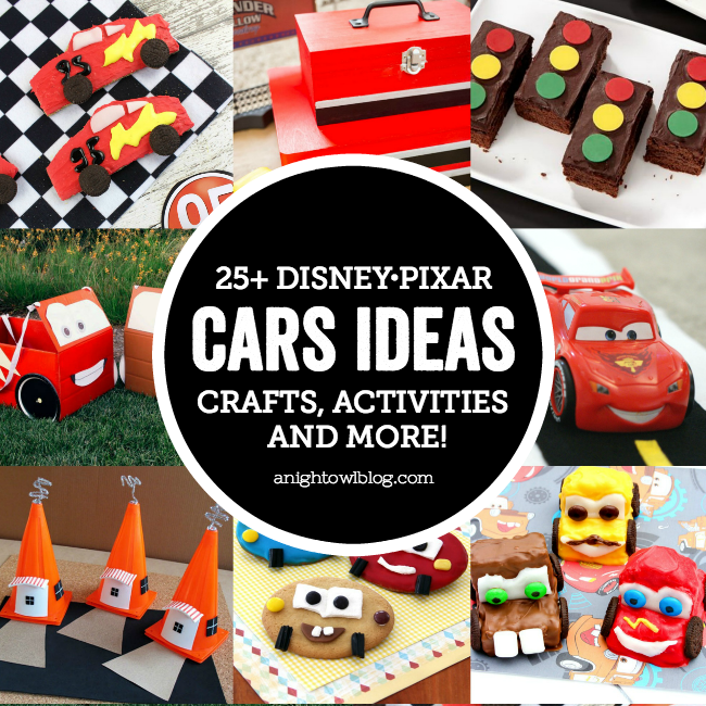 25 Disney Pixar Cars Ideas Crafts Activities And More A Night