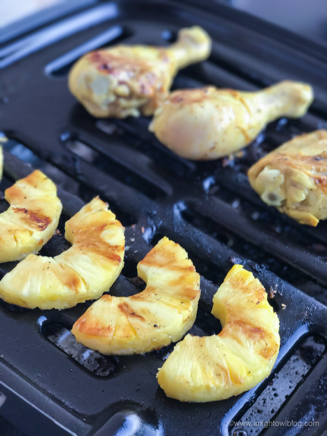 This Grilled Pineapple Lime Chicken is a delicious blend of citrus and spices for a meal your family will love!