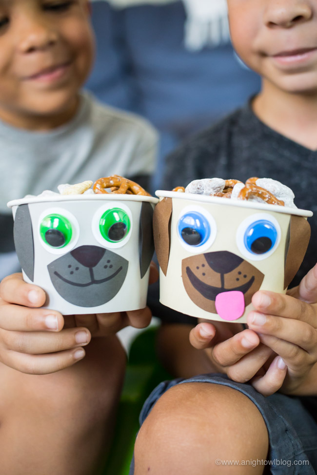 This summer put the YAY in your FriYAY with NEW Puppy Dog Pals on Disney Junior and this tasty Puppy Chow Snack Mix for your kiddos!
