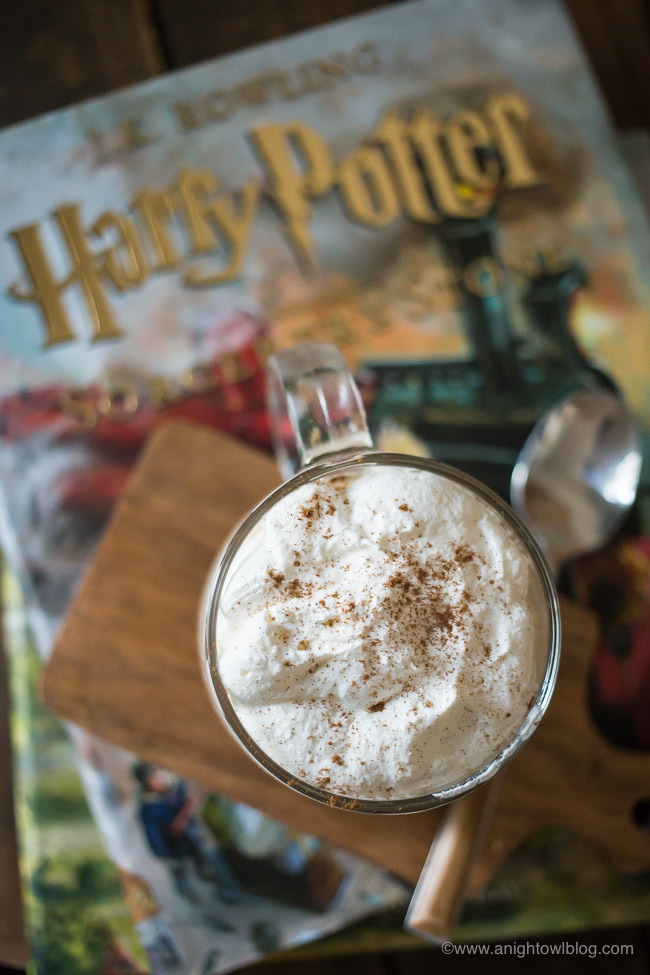 Perfect for fans of Harry Potter, this No Bake Butterbeer Cheesecake is easy to whip up and tasty too!