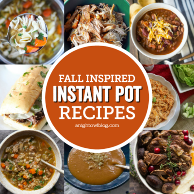 Whether you're trying to fill your freezer, or are just looking for some easier meals to make during the week, don't miss these 15+ Fall Inspired Instant Pot Recipes!