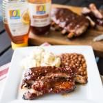 Honey BBQ Glazed Ribs