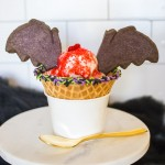 Disneyland Bat Wing Raspberry Sundae