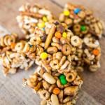 Easy Monster Cereal Bars