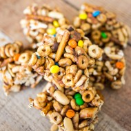 Easy Monster Cereal Bars