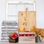 Easy Fall Vignette Decor Ideas