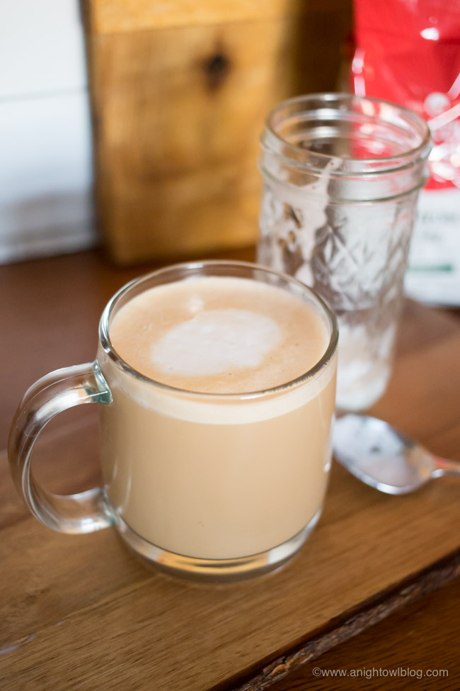 Upgrade your morning with an easy homemade Mason Jar Vanilla Latte with Seattle's Best Coffee®.