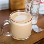 Mason Jar Vanilla Latte