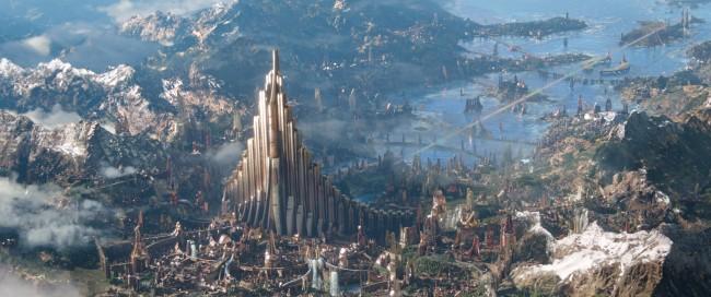 Marvel Studios' THOR: RAGNAROK..Asgard..Ph: Teaser Film Frame..©Marvel Studios 2017