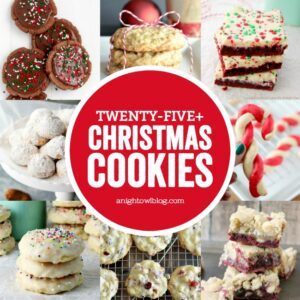 From snowballs to snickerdoodles and red velvet too, check out this amazing list of over twenty-five must-have Christmas Cookie Recipes!