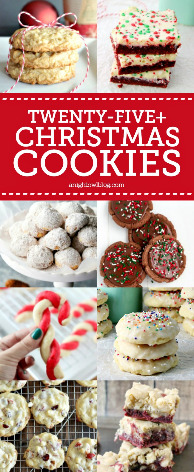 From snowballs to snickerdoodles, check out this amazing list of 25+ must-have Christmas Cookie Recipes!