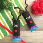 Christmas Snack Idea: Reindeer Granola Bar Covers