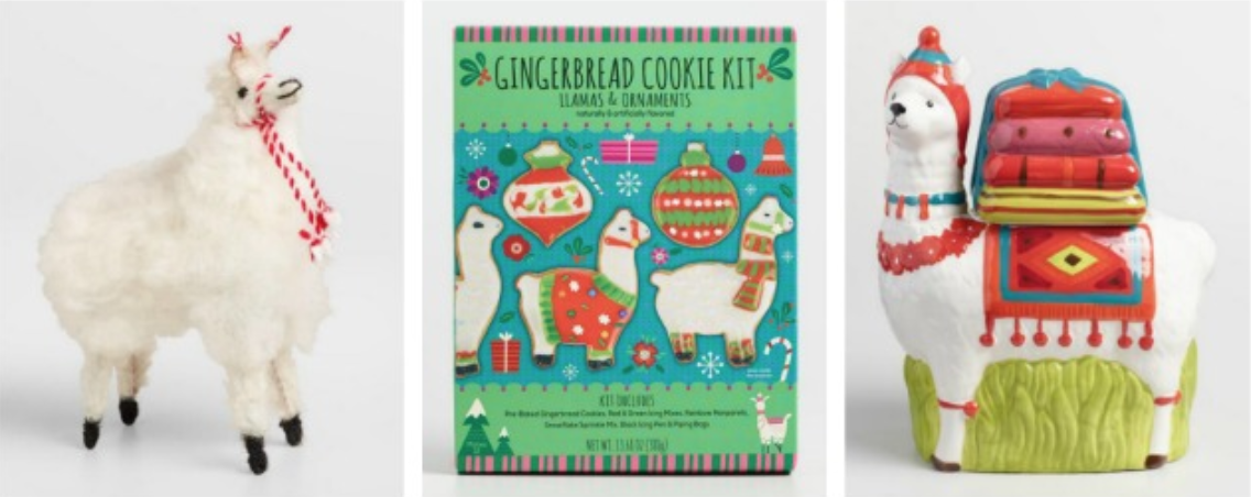 Shop the Holiday Llama-Rama collection at Cost Plus World Market