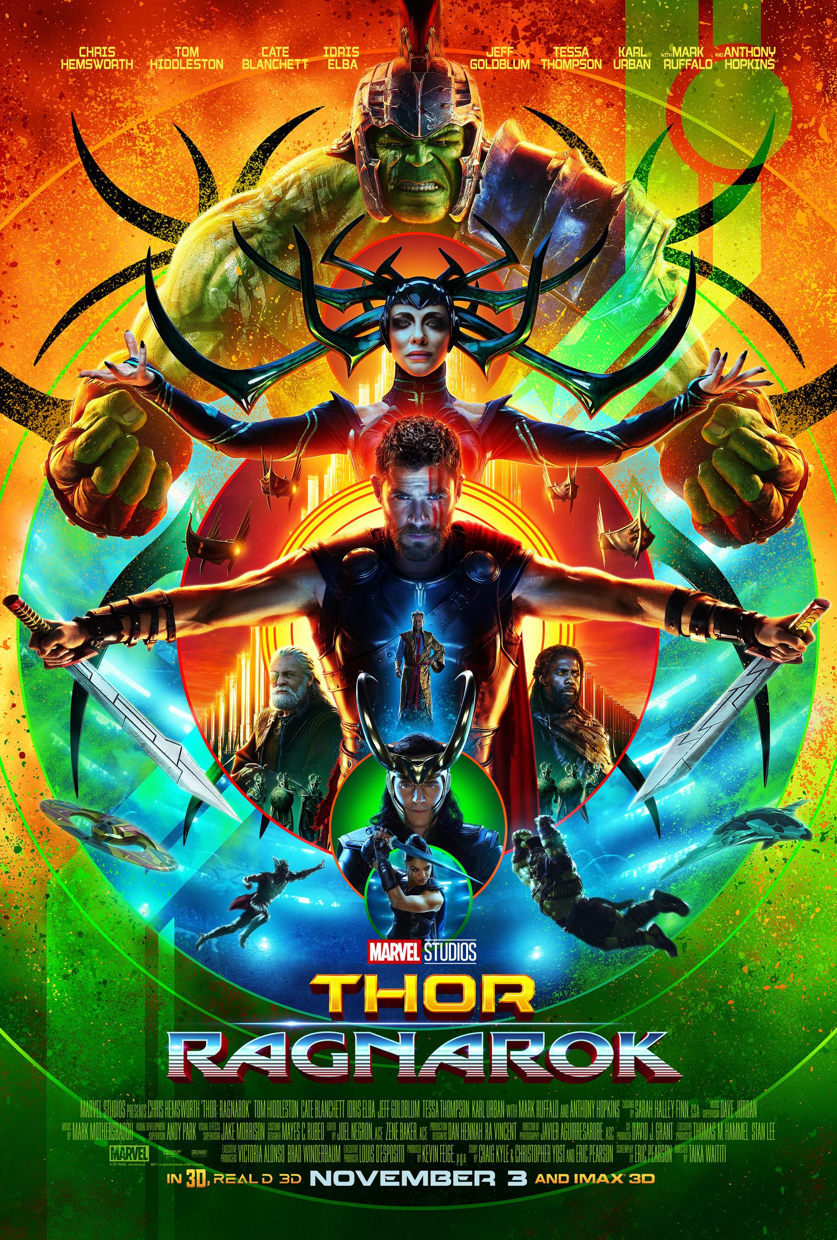 ThorRagnarok Movie Poster