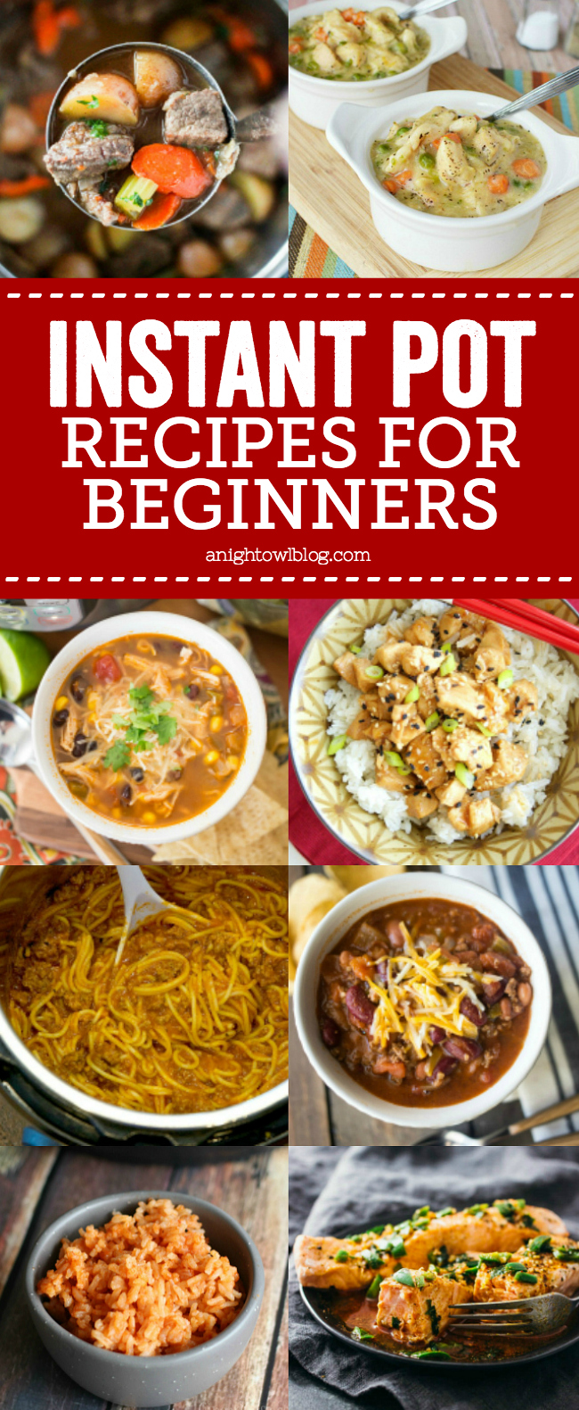 If you recently got an Instant Pot or are just looking for some new recipes to try, you don't want to miss these easy Instant Pot Recipes for Beginners!
