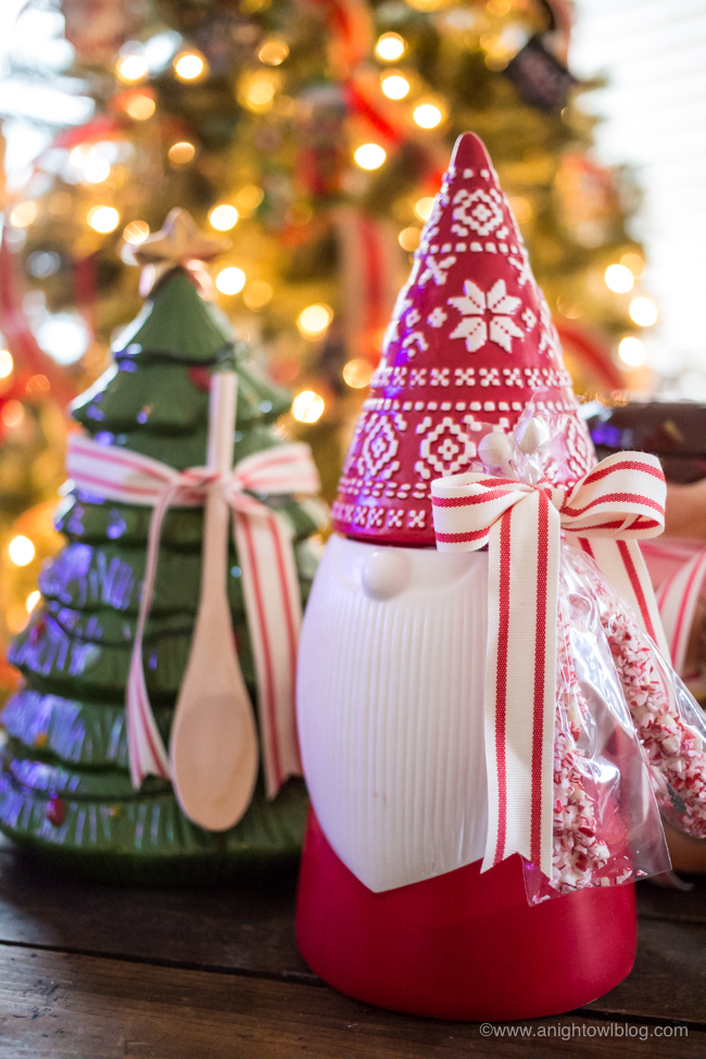 Fun and easy Cookie Jar Gifts for Christmas from Cost Plus World Market!!