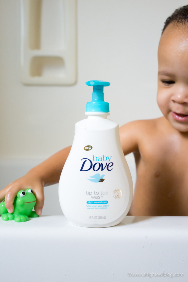 From play time to the best quality bath products, learn 4 Tips for Better Baths with Baby Dove.