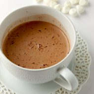 Creamy Nutella Hot Chocolate