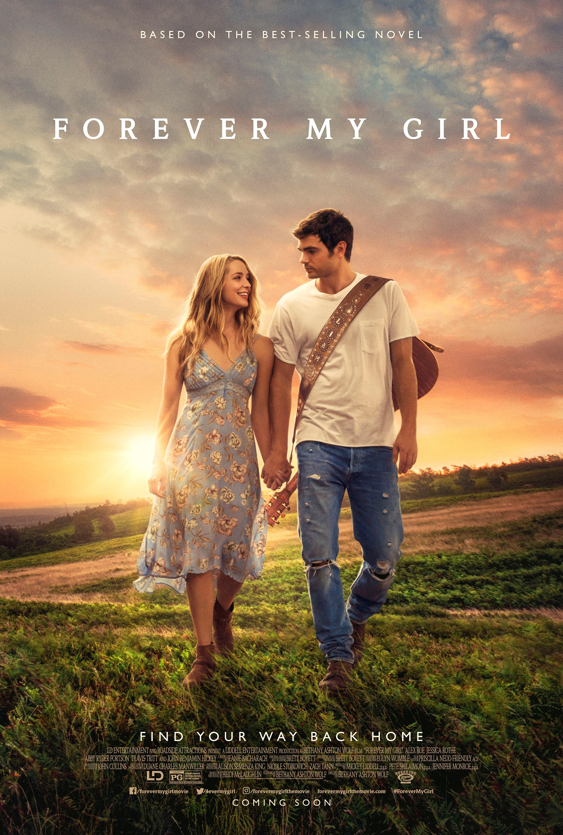 Forever My Girl tells the story of country music super-star Liam Page (Alex Roe) who left his bride, Josie (Jessica Rothe), at the altar choosing fame and fortune instead. In theaters January 19th!