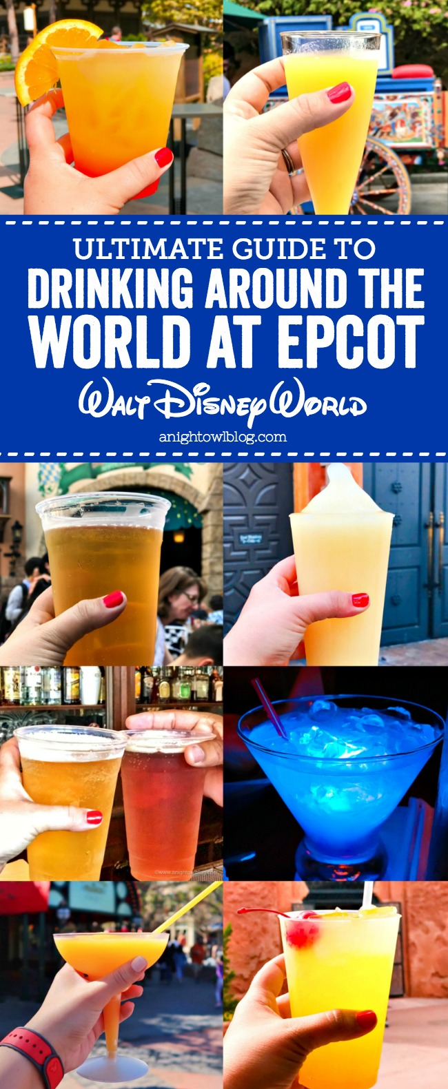 Guide to Drinking Around the World at EPCOT | A Night Owl Blog
