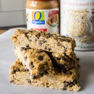 No Bake Homemade Organic Granola Bars