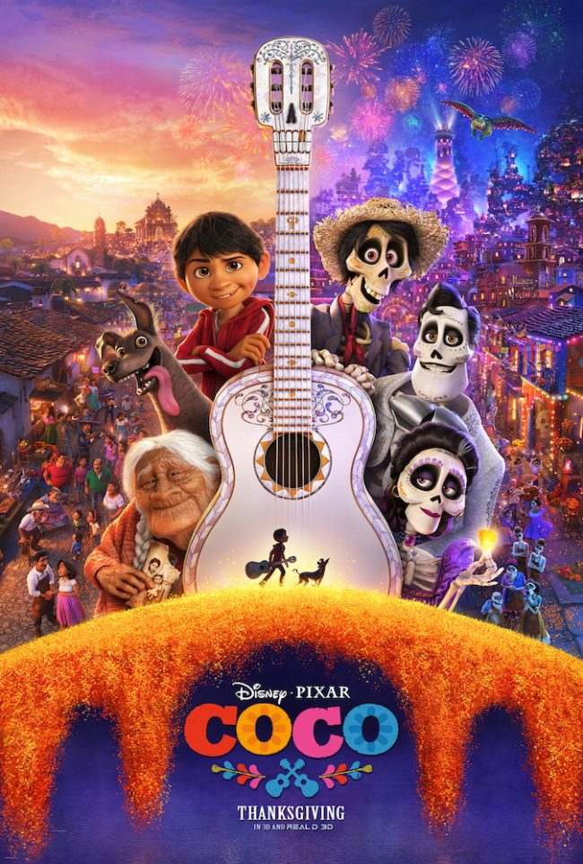 Disney Pixar Coco is available now on Digital and available on Blu-ray February 27th!