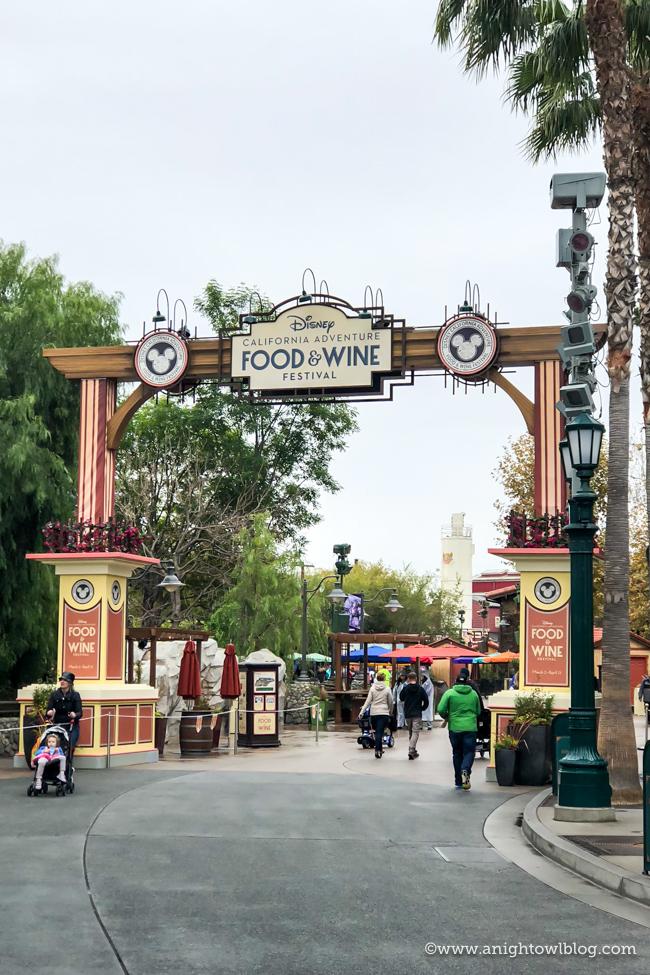 Disney California Adventure Food and Wine Festival #DisneyCaliforniaFoodandWine #Disneyland