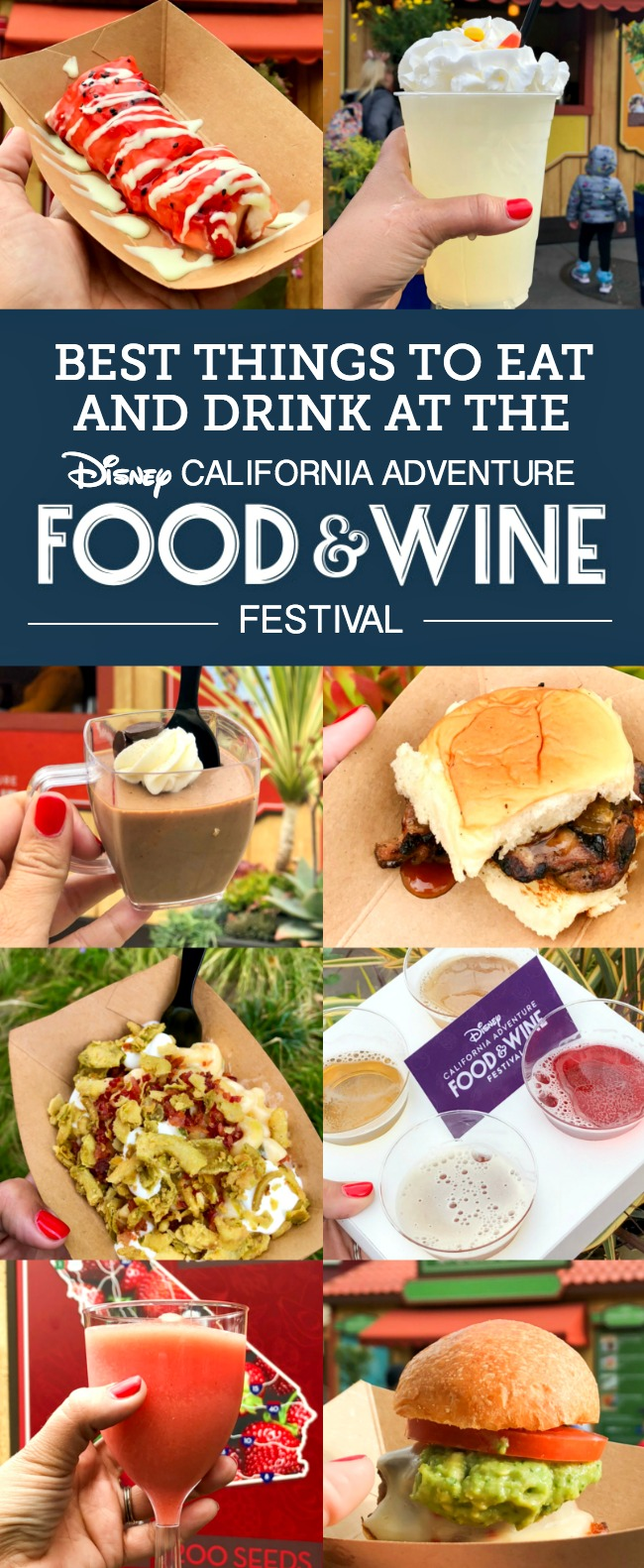 From Strawberry Frosé to Jalapeño Popper Mac & Cheese, there are so many great bites and brews to discover at the Disney California Adventure Food and Wine Festival! #DisneyCaliforniaFoodandWine #Disneyland