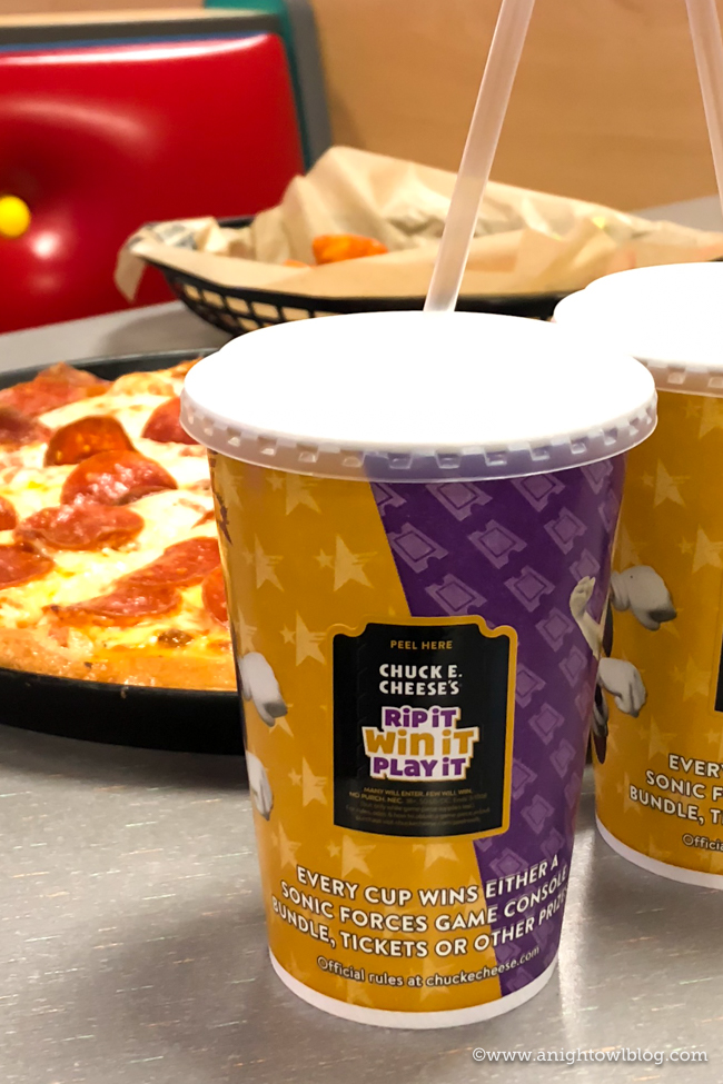 Now through March 11th, head down to your local Chuck E. Cheese's to play the Rip It, Win it. Play It Instant Win Game! Every cup is a winner!