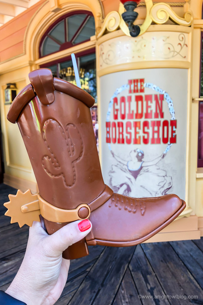 """Toy Story"" Root Beer Float from The Golden Horseshoe, Disneyland Park, Frontierland 