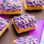 Black Panther Rice Krispie Treats