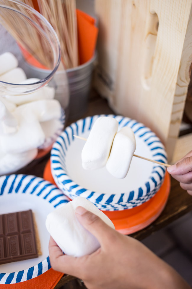 This summer, make s'mores your go-to dessert with a fun and easy Build-Your-Own S'mores Bar!