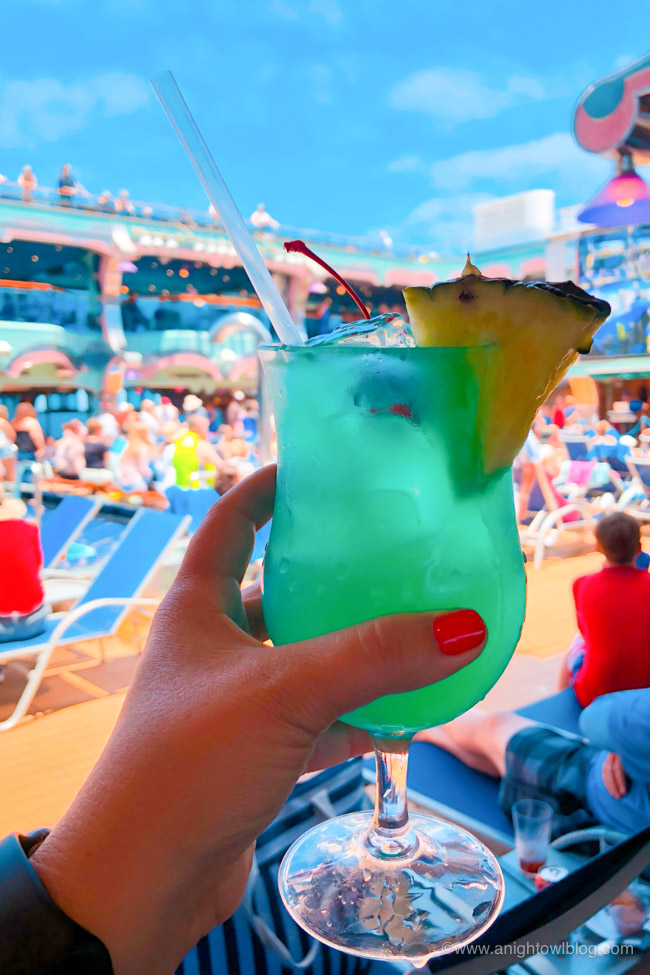 Best Drinks on Carnival Cruise Line - Drink of the Day | From The Fun Ship to a Kiss on the Lips, check out the Top Ten Drinks to Order on your Carnival Cruise!