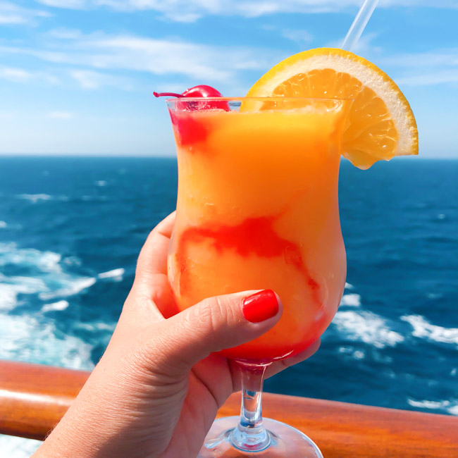 Top Ten Carnival Cruise Drinks | A Night Owl Blog