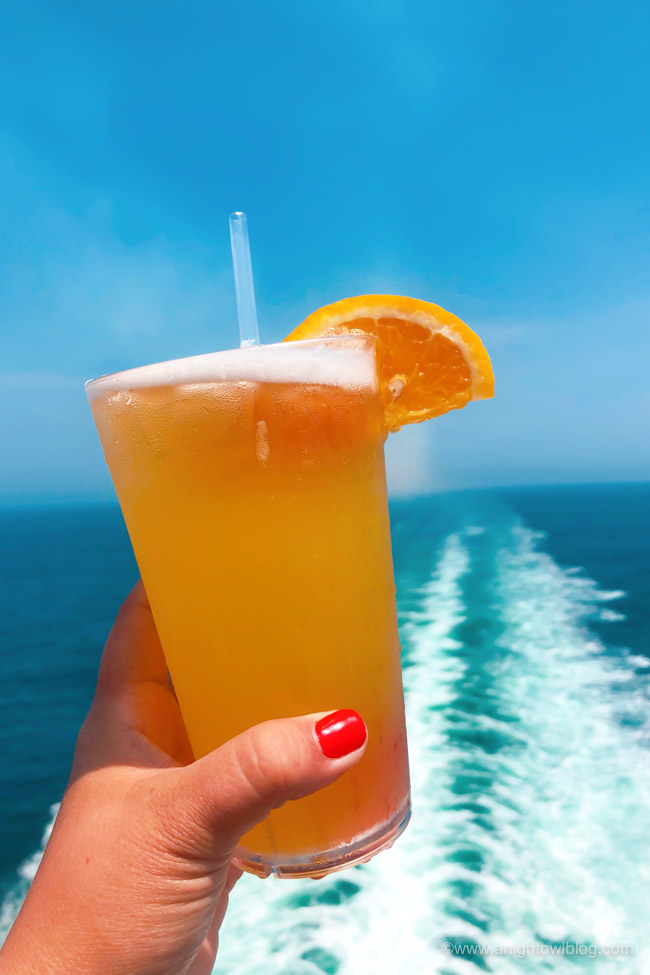 From The Fun Ship to a Kiss on the Lips, check out the Top Ten Drinks to Order on your Carnival Cruise!