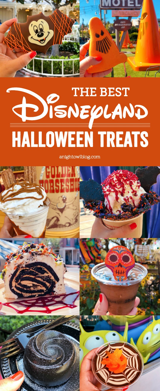 From the Mickey Mummy Macaron to the Bat Wing Raspberry Sundae, check out our picks for The BEST Disneyland Halloween Treats!